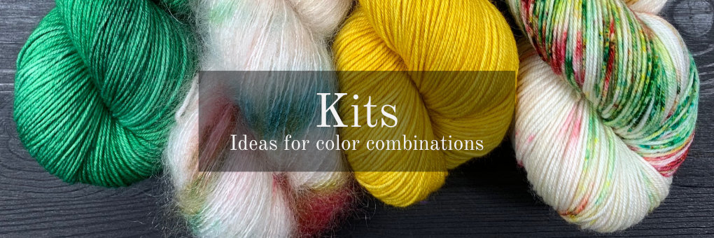 Ideas for color combinations and specific knitting projects